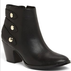 "IVANKA TRUMP ""Talley"" Leather Ankle Booties"